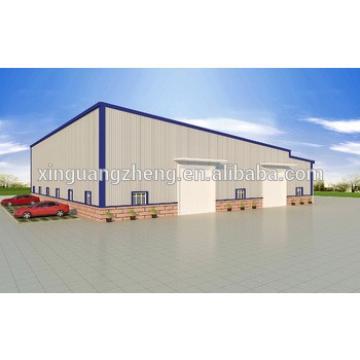 Galvanized Q345 steel china prefabricated workshop