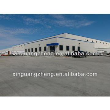 Oil refinery equipped steel frame warehouse