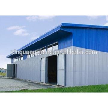 Prefabricated Structural Steel Frame Workshop