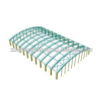 prefabricated steel structure truss design