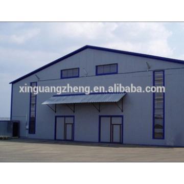 Portable Fabricated Steel Frame Prefabricated Warehouse