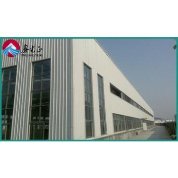 Modular, durable prefabricated metal warehouse and workshop