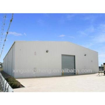 One storey prefabricated steel structure warehouse