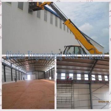 Industrial warehouse steel desing
