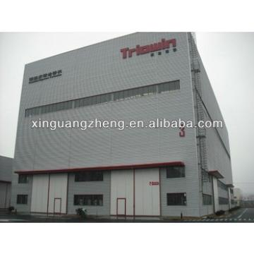 construction two storey steel structrue ready made warehouse