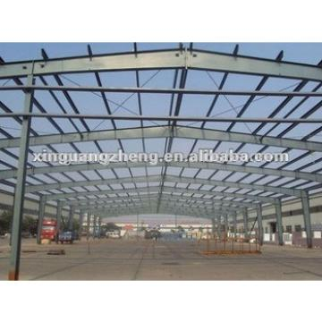 Light prefabricated steel H beam structure frame warehouse buildings