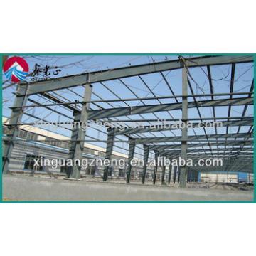 Prefab light steel H beam warehouse house design