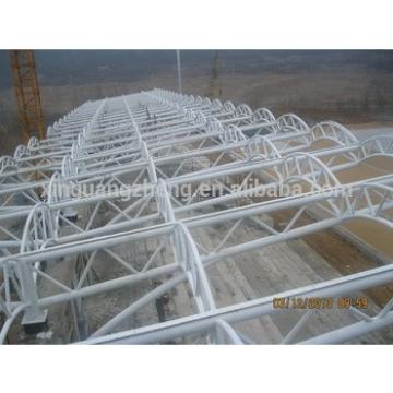 Light steel structure pipe truss Football field building/harge/poutry/building
