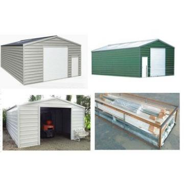 Steel Garage Metal Garage Prefab Garage for Prefab Carport