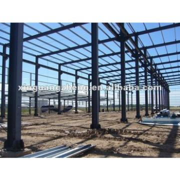 steel frame large span steel warehouse