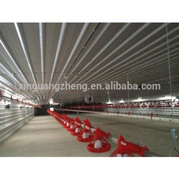 Steel construction shed for eggs chicken farming with ISO9002