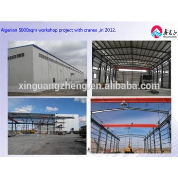 Steel structure workshop housing warehouse in 5000-10000 square meters