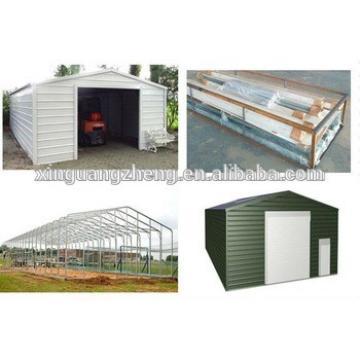 Steel structure portable garage for car parking/carport