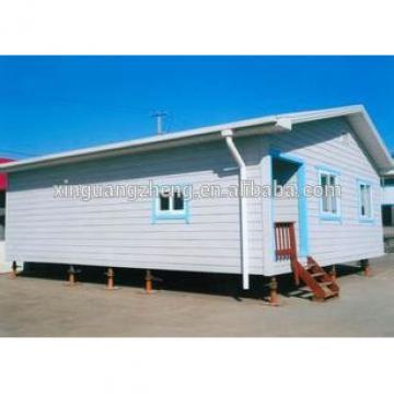 iso certificate fiber glass wool prefeb house anti-earthquake