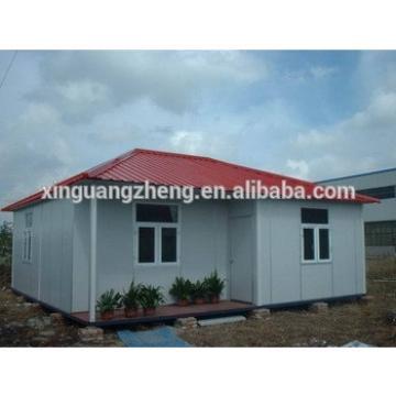 Steel prefab homes with solar power