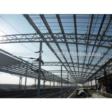 steel structure truss for railway station
