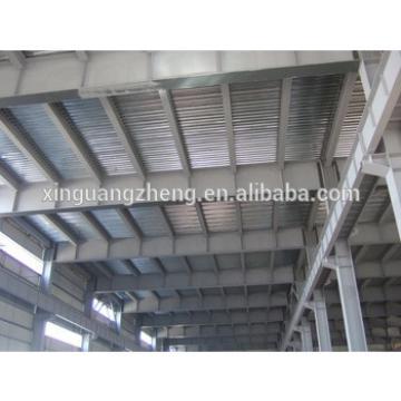 prefabricated mezzanine steel structure warehouse