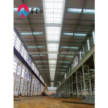 Framed structure building steel shed plant substation steel structure