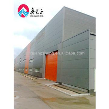 Prefab large span Light steel structure warehouse metal building industrial shed