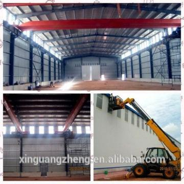 Pre-engineering industrial double slope prefabricated steel structural warehouse building