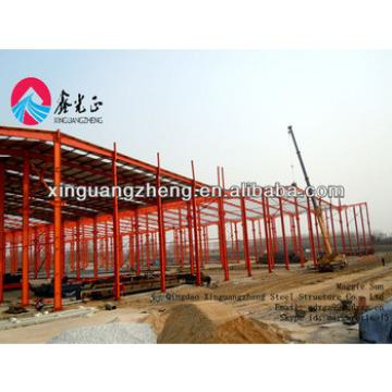 light weight prefabricated warehouse construction