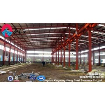 heavy industrial prefab structural steel fabrication,workshop with crean beam