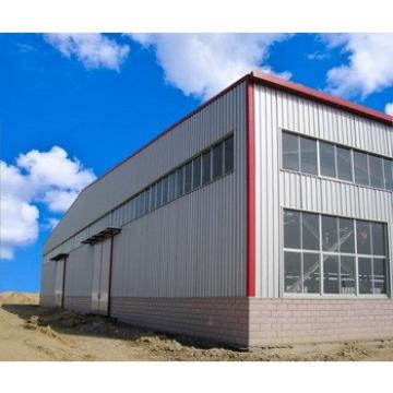 Self storage Light Prefabricated Design Structural Steel Frame Warehouse Teminal