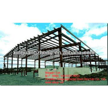 light steel structure construction factory warehouse