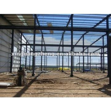 industry prefabricated steel frame warehouse