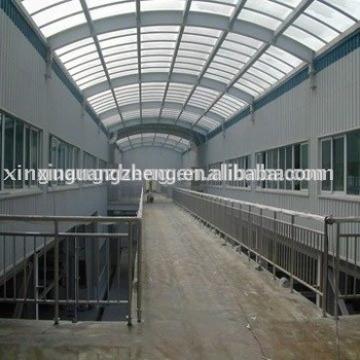 low cost steel structure prefab warehouse in Algeria