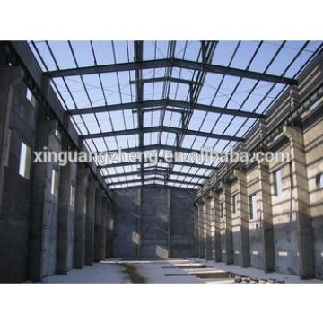 china large span steel space frame structure warehouse