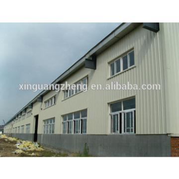 construction design large span steel space frame structure warehouse
