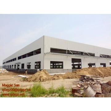 Steel fabrication plant warehouse since 1996 steel structure fire eps sandwich panel warehouse earthquake building construction