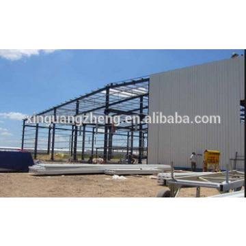 prefabricated warehouse light steel portal frame