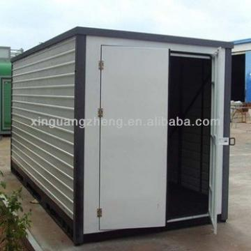 Flat pack foldable steel storage moving warehouse