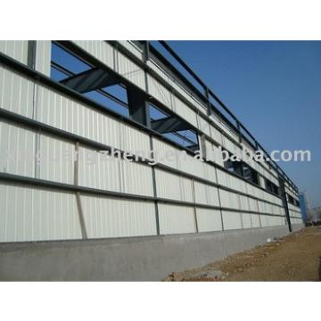 prefabricated large span cheap steel frame warehouse
