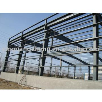 construction prefabricated metal structural steel frame warehouse