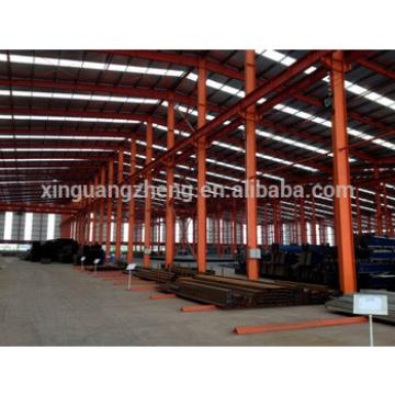 Chinese light steel structure temporary warehouse