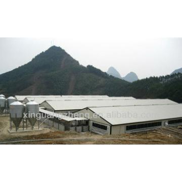 Steel structure prefabricated farm shed