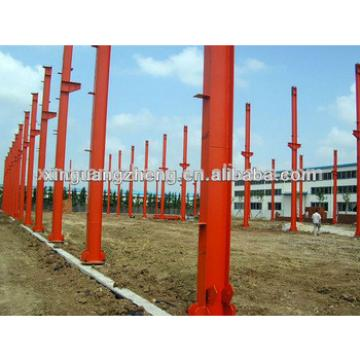 Chinese light steel structure pvc warehouse