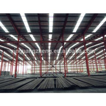 Chinese light steel structure modern warehouse