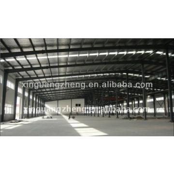 Prefabricated earthquake resisting industrial warehouse steel design