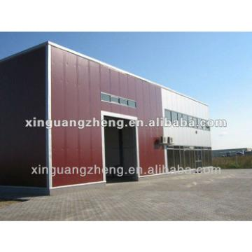 prefab steel structure building a warehouse