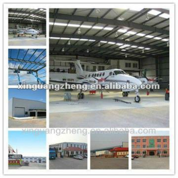 steel construction aircraft warehouse