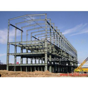 multi-storey steel warehouse