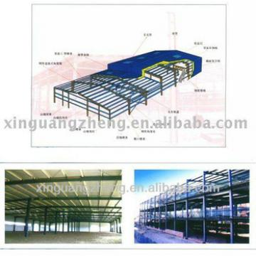Steel structure steel formwork warehouse
