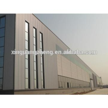 light weight prefabricated structural steel building warehouse