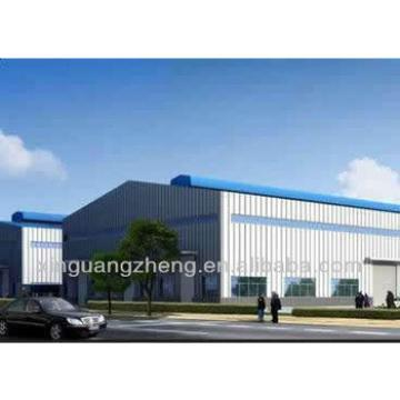 Qingdao warehouse steel construction with crane