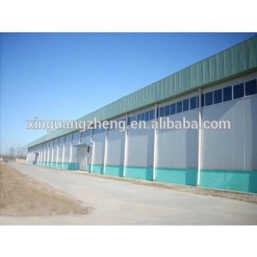 metallic steel warehouse for storage
