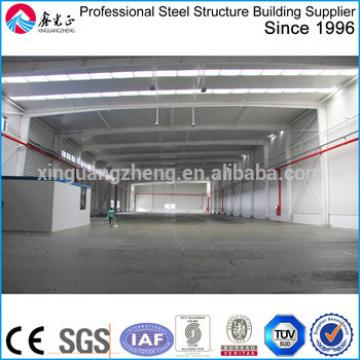 China Prefabricated large span light frame industrial sheds
